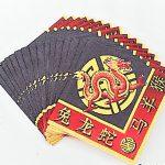 Mah Jongg Paper Napkins