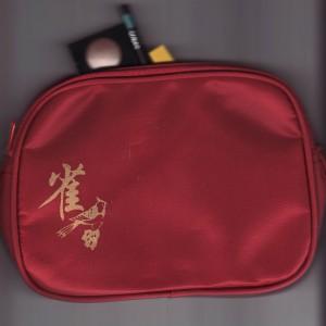 Mah Jongg Cosmetics Bag