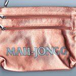 MAH JONGG 3 ZIPPER PURSE