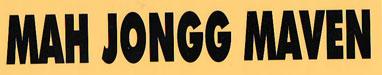 Mah Jongg Maven Bumper Sticker
