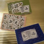 MAH JONGG HANDCRAFTED GREETING CARDS